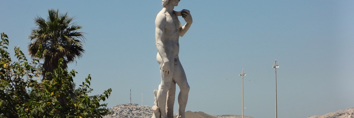Avenue du Prado Statue de David