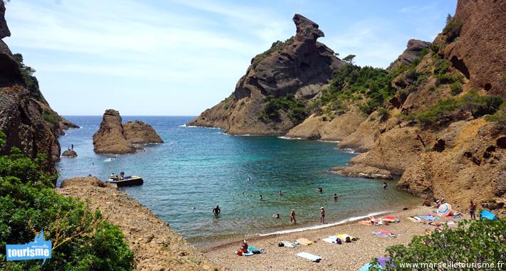 Plus belles meilleures plages marseille plage paradisiaque - Office tourisme cassis les calanques a pied ...