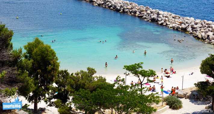 Plus belles meilleures plages marseille plage paradisiaque - Image de plage paradisiaque ...