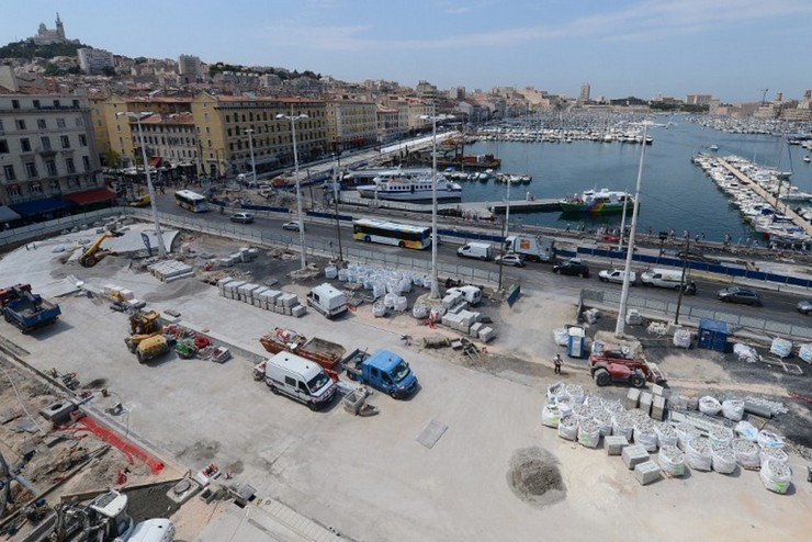 parking vieux port marseille