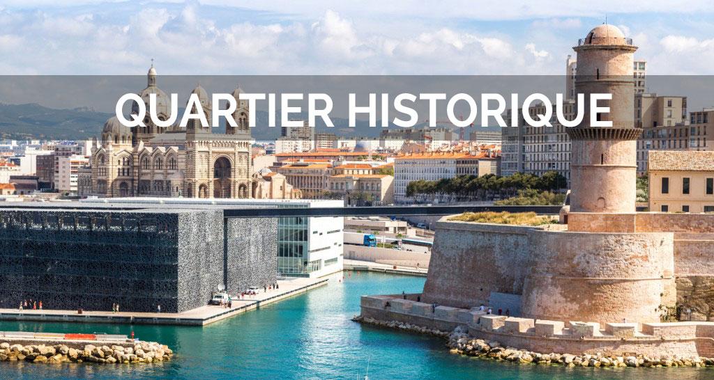 Balade du vieux port au panier en passant par le mucem - Parking vieux port fort saint jean marseille ...