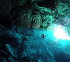 calanques grottes sous marines