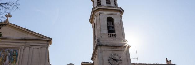Le clocher de notre Dame du Mont