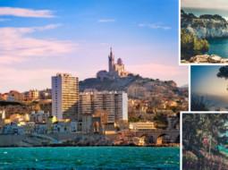 Marseille nature ville de france