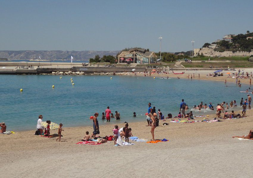 Prado Beach The Largest Beach In Marseille France